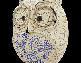 Ceramics Owl model 4 game-ready