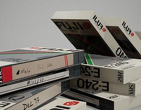 3D asset VHS tape