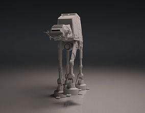 Imperial Walker ATAT 3D asset