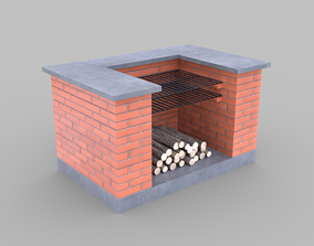 Barbecue 3D pan