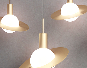 3D SATURNE pendant light by CVL