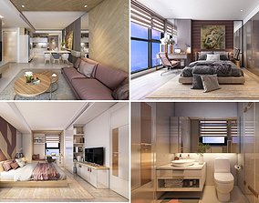 P Apartment Interior full rooms A2 3D model