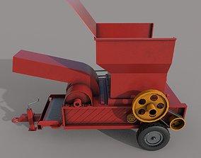 Village Hay maker Machine 3D asset
