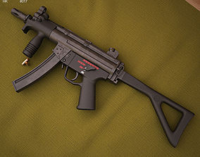 Heckler And Koch MP5K-PDW 3D