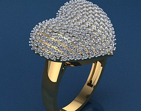 Ring 45 3D print model rings