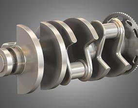engine Crankshaft - 3D Model