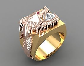 3D printable model 570 Dragon Ring