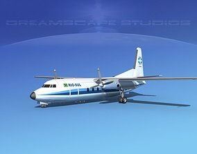 3D Fokker F-27 Rio-Sul 1