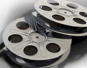 3D model cameras Film Reel