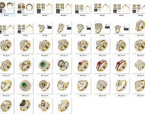 Bulk Rings-0046-3dm with stones-44 Files