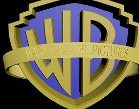 Warner Bros Logo 3D model