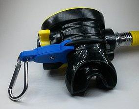 3D printable model SCUBA - SIMPLE - Octopus O-RING Holder