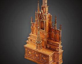 3D asset MVL - Altar - PBR Game Ready