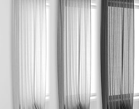 3D Curtains simple detailed