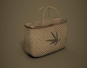 3D asset Bamboo Bag PBR