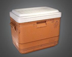 3D asset TLS - Mini Cooler - PBR Game Ready