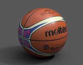 3D model Molten Official Qualifiers Basketball World Cup