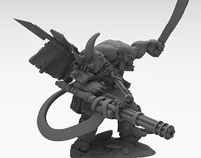 Big bullet orc warhammer 40k 3d print models figurines