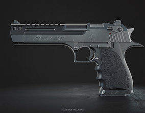 Desert Eagle L5 Custom - High Poly Model