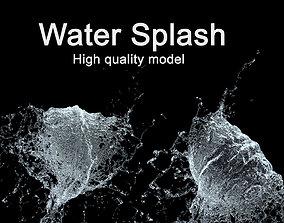 Water Splash 3D Model splatter