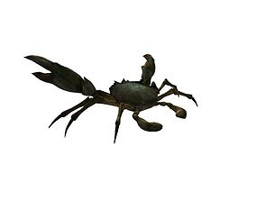 Rigged Crab Model 3D asset