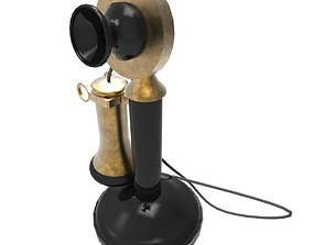 old phone 3D model realtime