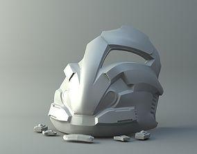 SWTOR Arcann Mask 3D print model