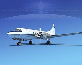 Convair CV-580 Corporate 11 3D model