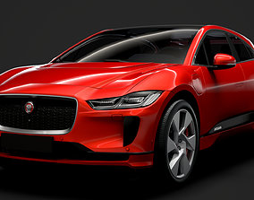 Jaguar I Pace EV400 ADW SE 2019 3D model