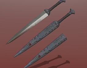 Hemoling Dagger 3D model
