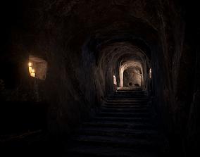 3D asset Ancient Catacombs