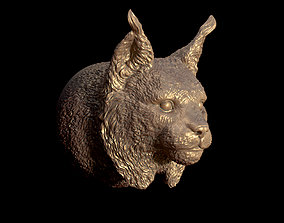 3D printable model big lynx head