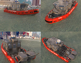 Coast Guard Patrol Boat 3D