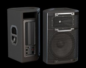 3D model Metal And Plastic Loudspeakers