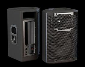 3D model Metal And Plastic Loudspeakers