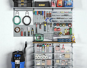 garage tools set 11 3D