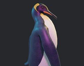 Emperor Penguin 3D asset animated