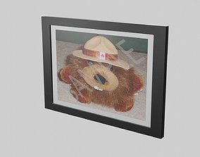 Wide Picture Frame 3D model