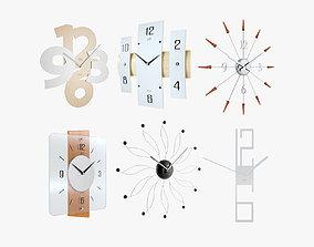 Clocks Pack 3D model