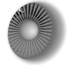 3D model General Electric CF6 80C2 Optimized for Flight 1