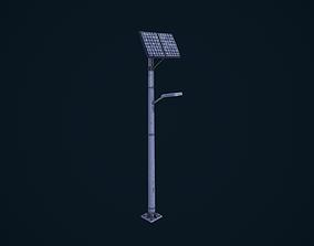 Solar Lamp Post 3D model