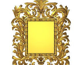 3D carved frame decoration