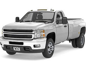 3D model 2011 GENERIC DUALLY PICKUP TRUCK 16