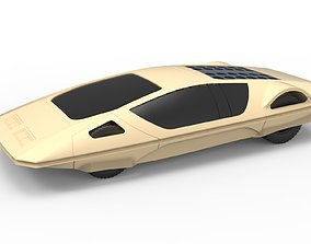 Diecast model Concept car 1970 Scale 1 to 24 automotive