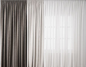 3D model Curtain 86
