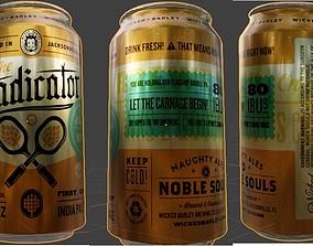 Eradicator Beer Can 3D asset