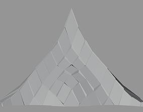 Peak Structure 3rd Version 3D asset