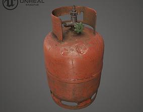 Propane Tank 3D asset