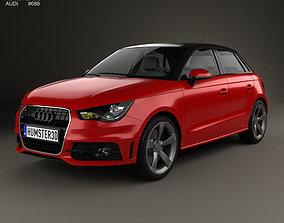 3D Audi A1 sportback 2012
