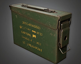 3D asset MLT - Ammo Container Box 01 - PBR Game Ready